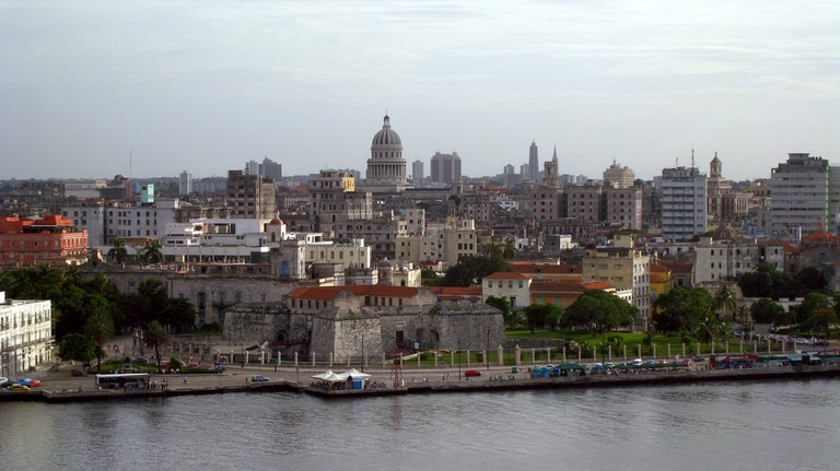 View of Havana from La Cabana Fortress