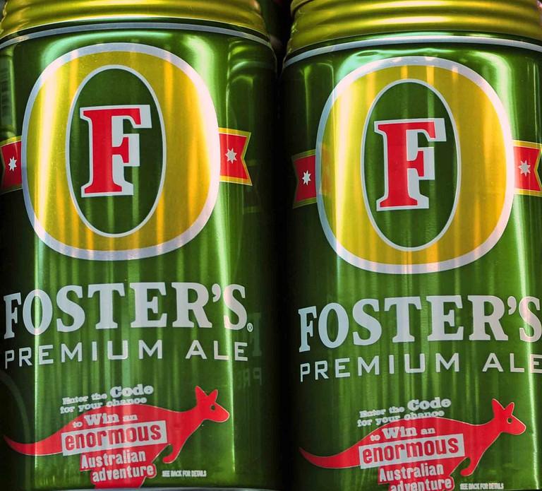 Fosters in America, Victoria Bitters in Australia