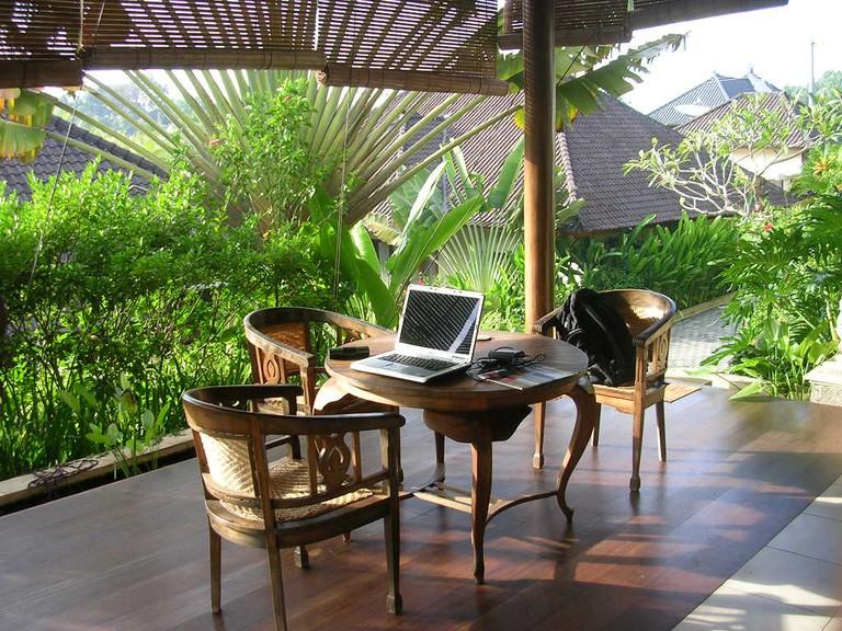 Working in Bali