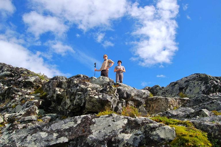 Hikers at Käsivarsi