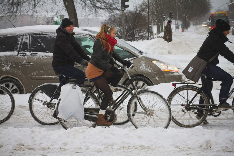 Snowstorm Coolicious – Winter Cycling in Copenhagen