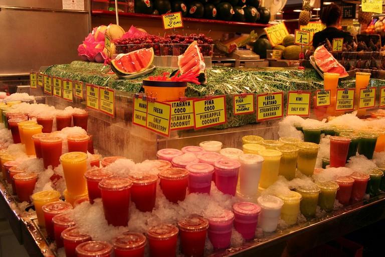 Fruit juices © Bevis Chin