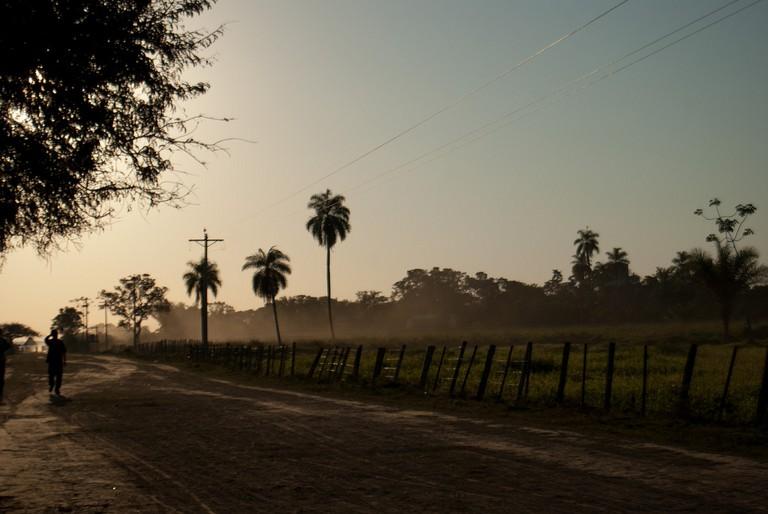 San Ignacio de Moxos where the Tsimane live