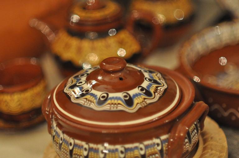 Gyuveche, Bulgarian pottery