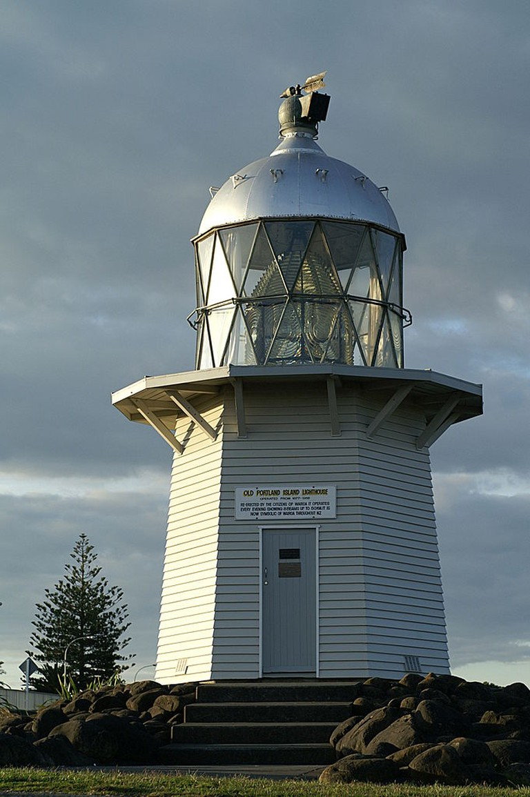 The Old Portland Lighthouse in Wairoa, New Zealand