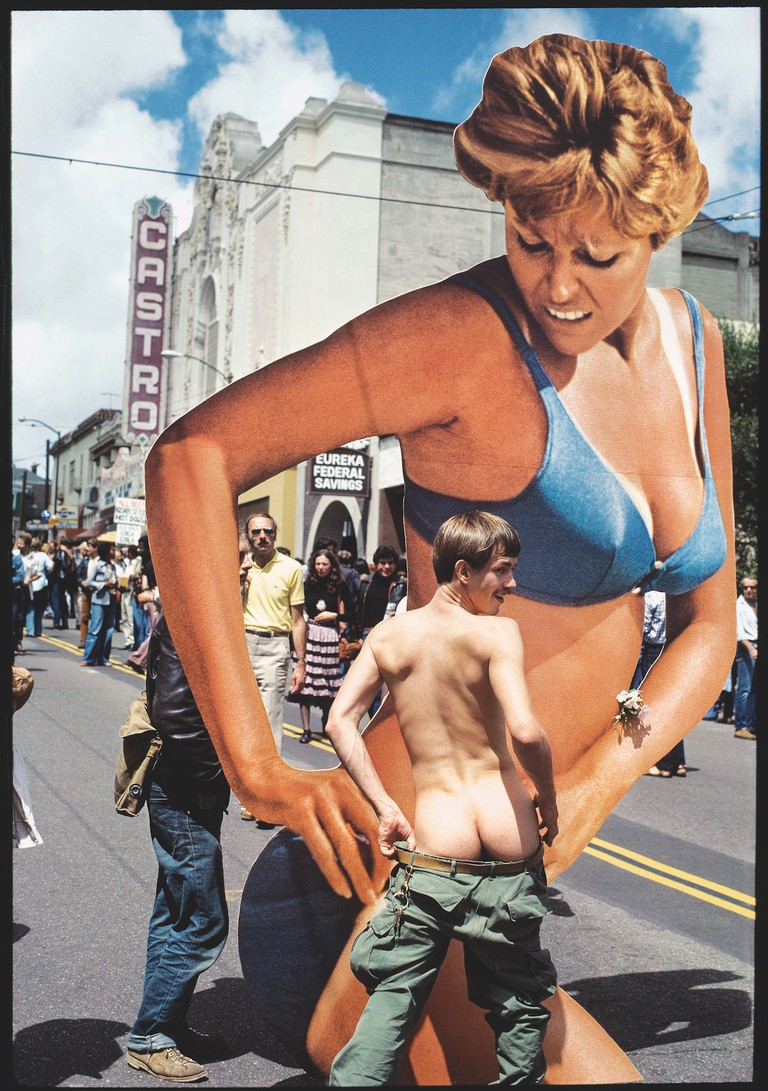 Castro Street Fair, Moveable Artt piece by Violet Ray, August 15 1982