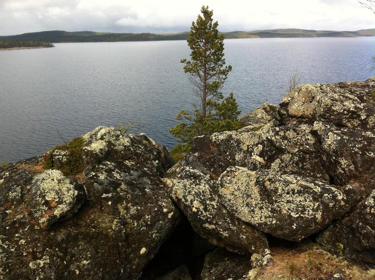 View from Ukonsaari