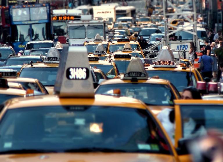 NYC Cabs | PROjoiseyshowaa/Flickr