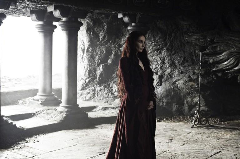 'Game Of Thrones', Series 3 EP302 Featuring Carice Van Houten as Melissandre