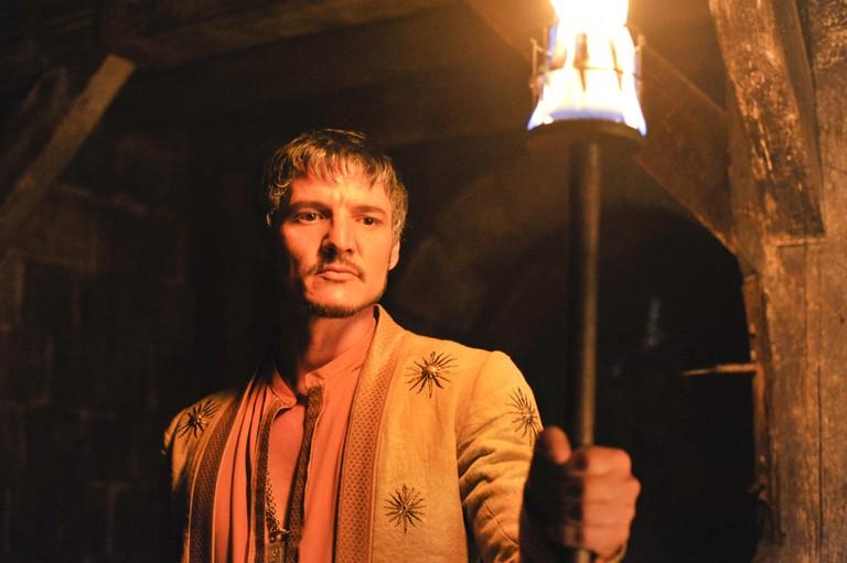"Pedro Pascal, 'Game of Thrones' Series 4, Episode 7 ""Mockingbird"" Sky Atlantic HD"