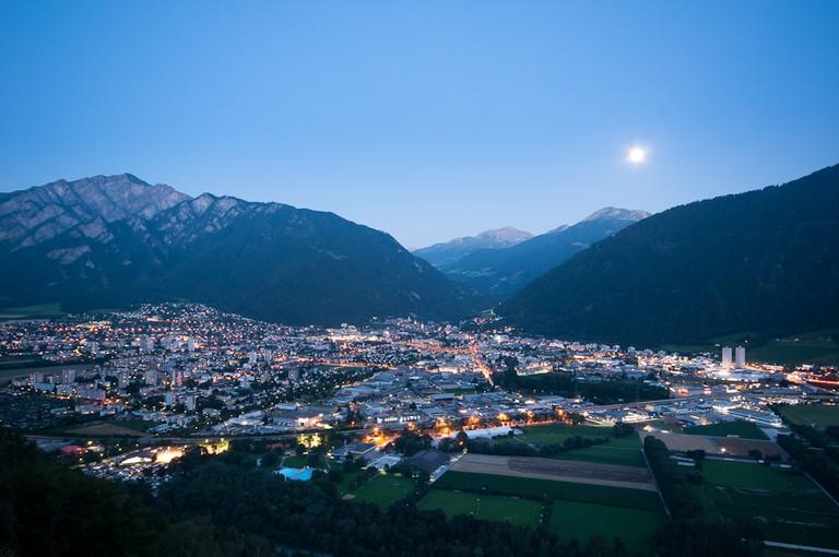 Start your cycling tour of Graubünden in Chur, Switzerland's oldest city