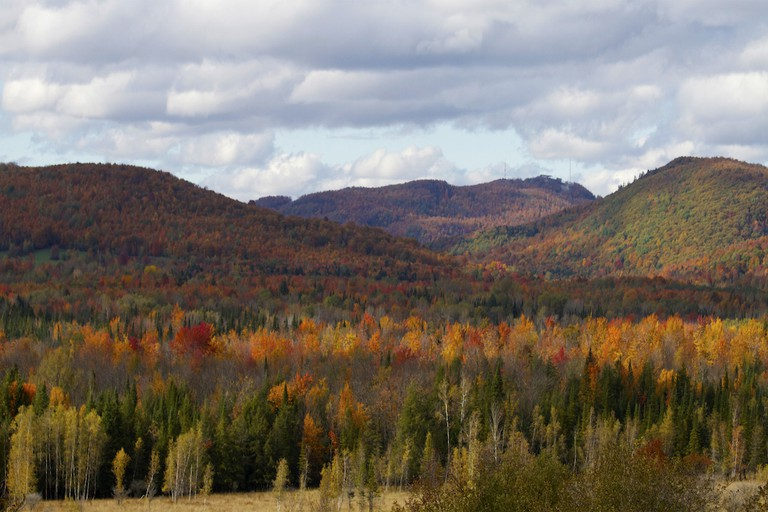 Autumn in the Eastern Townships, Quebec