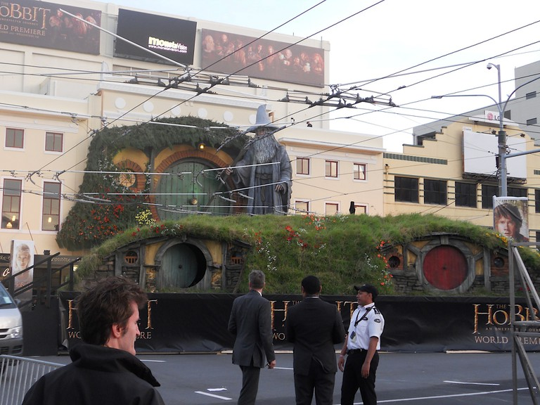 The Embassy Theatre, Decorated For The Premier of The Hobbit