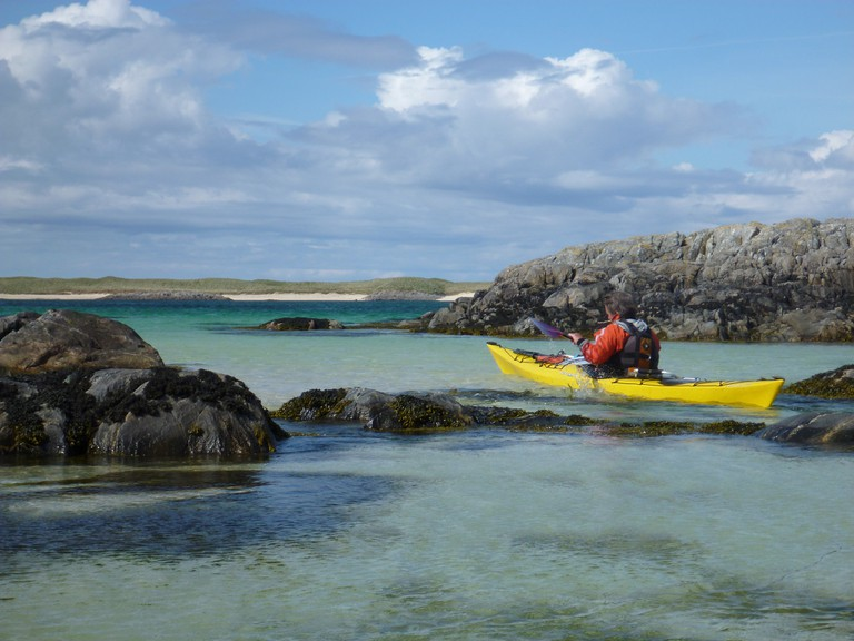 Sea Kayaking in Gunna Sound