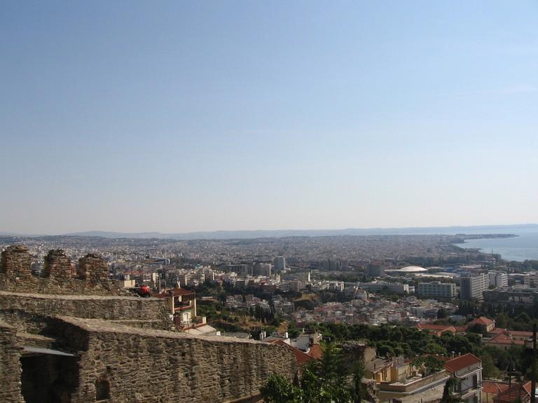 View of Thessaloniki from Eptapyrgio