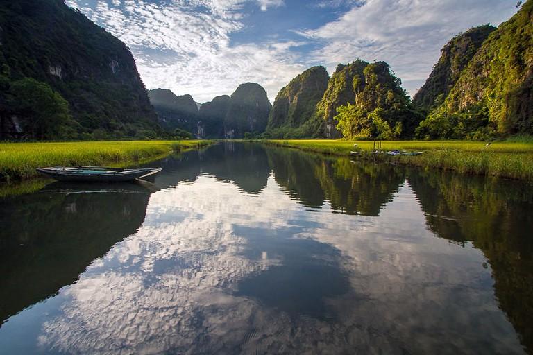 Tam Coc Rice Valley in Ninh Binh
