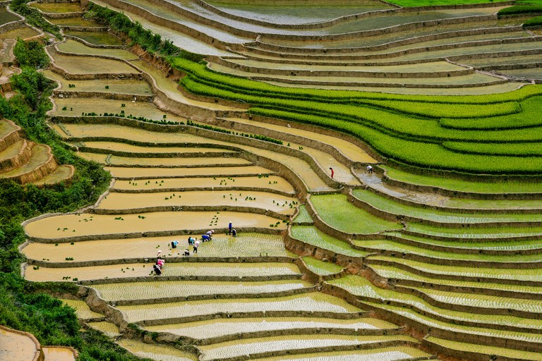 Rice terraces in Mu Cang Chai | © Nguyen Anh Tuan / Flickr
