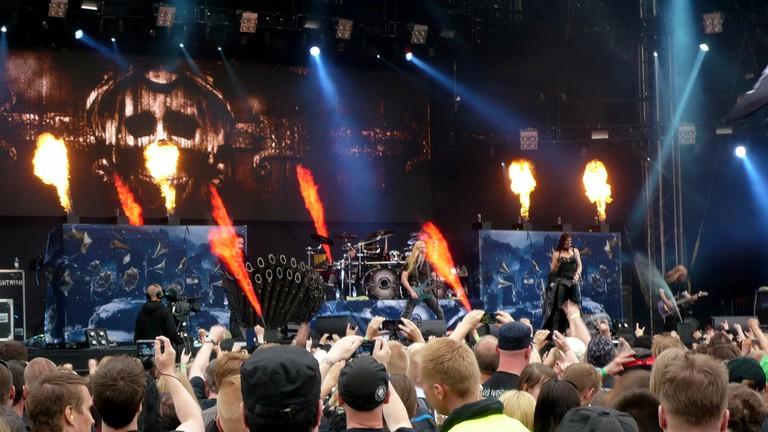 Nightwish at Tuska Open Air 2013