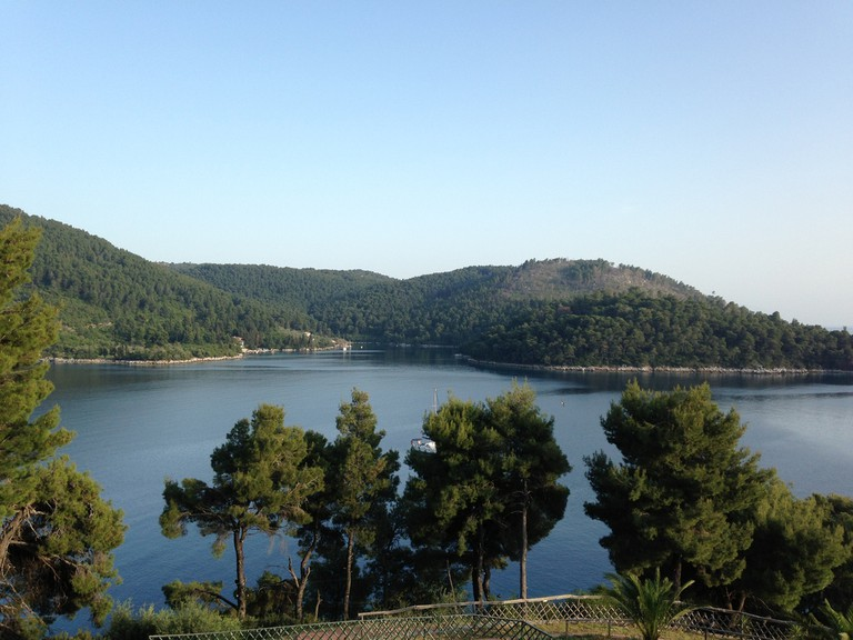 Pine-covered Skopelos