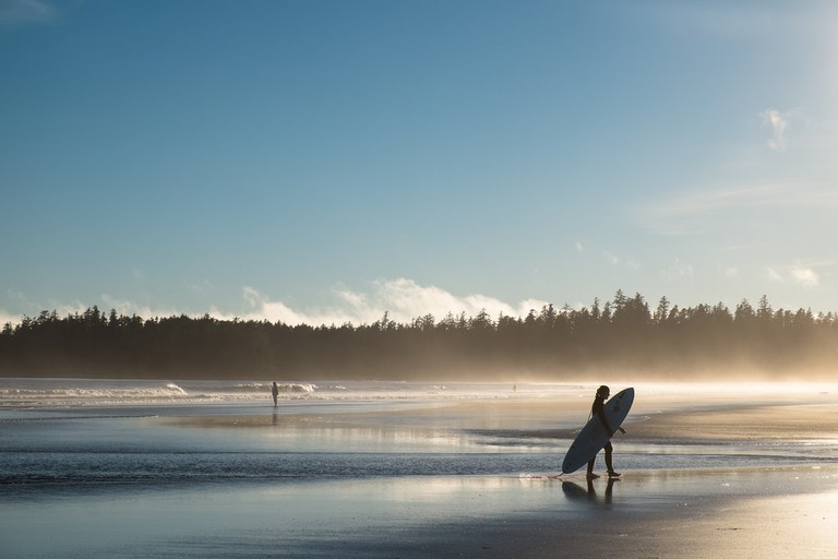 Long Beach on Vancouver Island