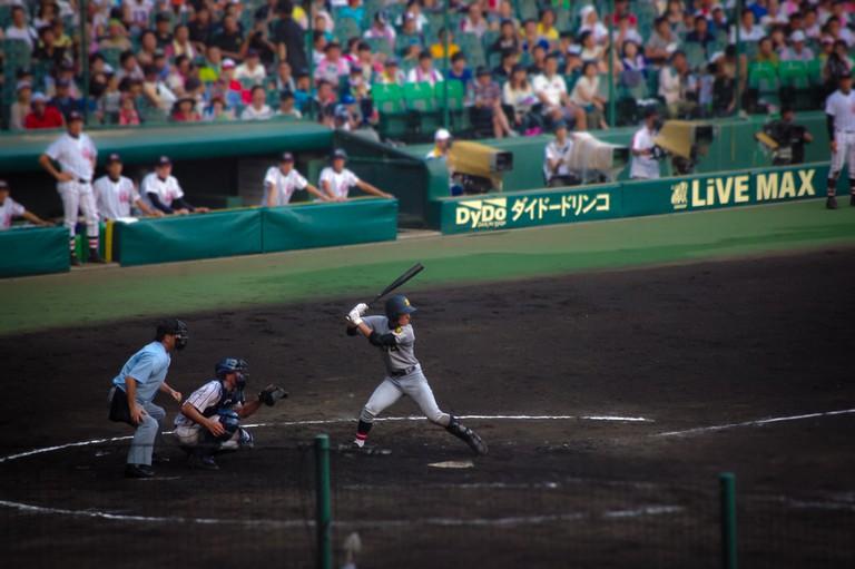 95th Annual All-Japan High School Baseball Championship Tournament at Koshien Stadium