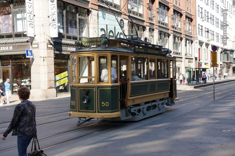 A Helsinki tram car / Aarni Heiskanen / Flickr