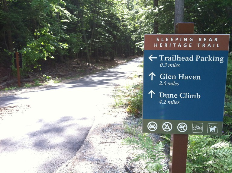 The Sleeping Bear Heritage Trail   © Sleeping Bear Dunes National Lakeshore/Flickr