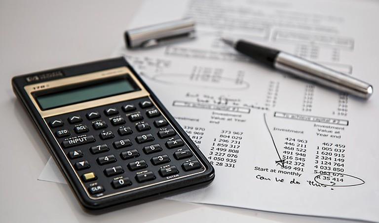 Finance calculation