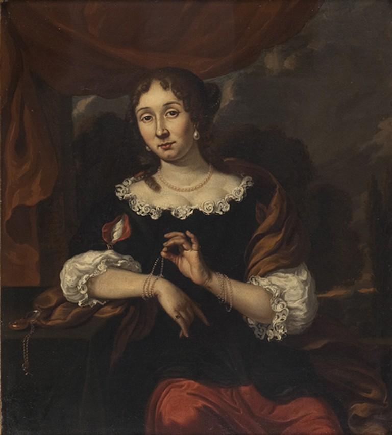 Adriana Spilberg: Portrait of a Woman, 1675- 1700