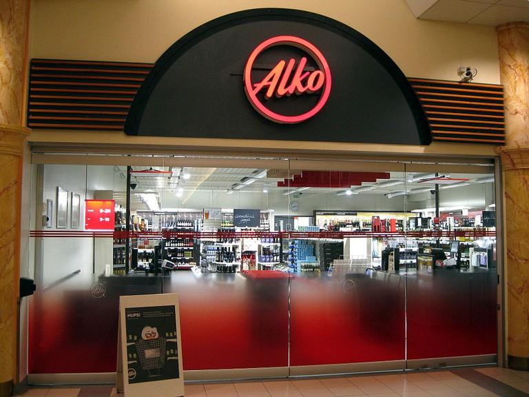 An Alko store