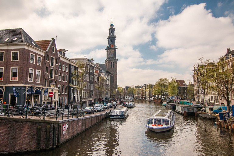 Amsterdam's canal belt is stunning