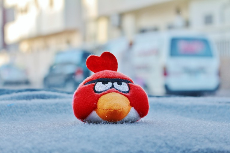 Finland's most famous startup:  Angry Birds / Public domain / Pixabay