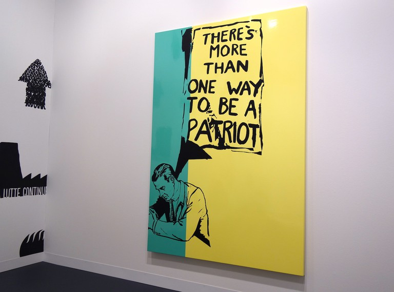 """Art Basel 2017, Gallery Pedro Cera, Marinella Senatori """"There Is More Than One Way To Be A Patriot"""""""