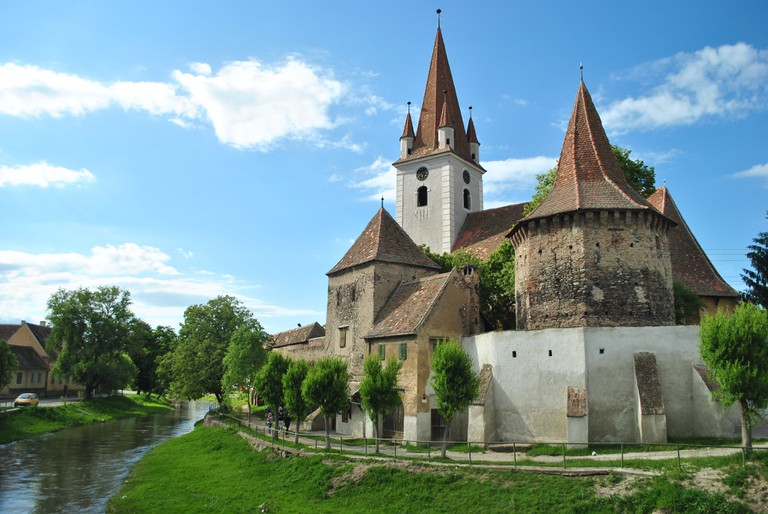 One of the many castles in Transylvania