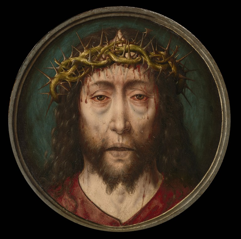 Albrecht Bouts, Christ Crowned with Thorns, ca. 1490–1495