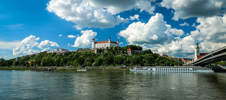 Bratislava's Castle Dominates the Skyline