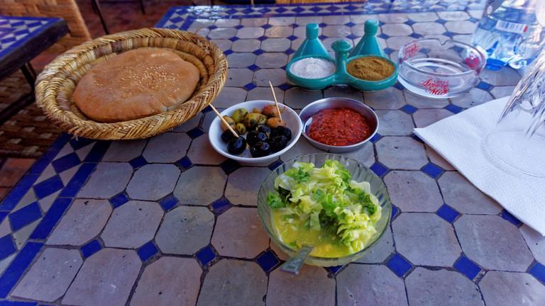 Bread in Morocco