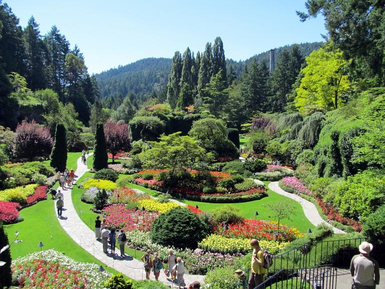 Butchart Gardens. Victoria, British Columbia