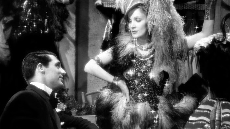 "Cary Grant and Marlene Dietrich in ""Blonde Venus"" (1932)"
