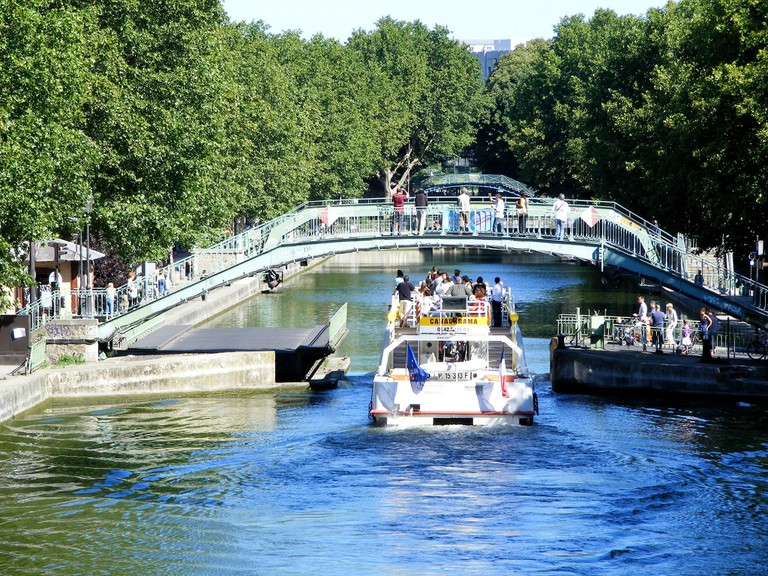 Canauxrama on the Canal Saint-Martin