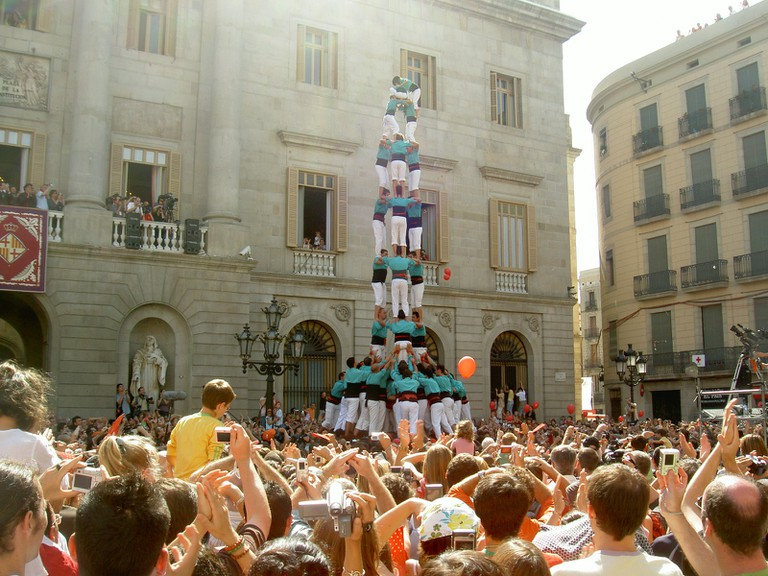 A castell or human tower