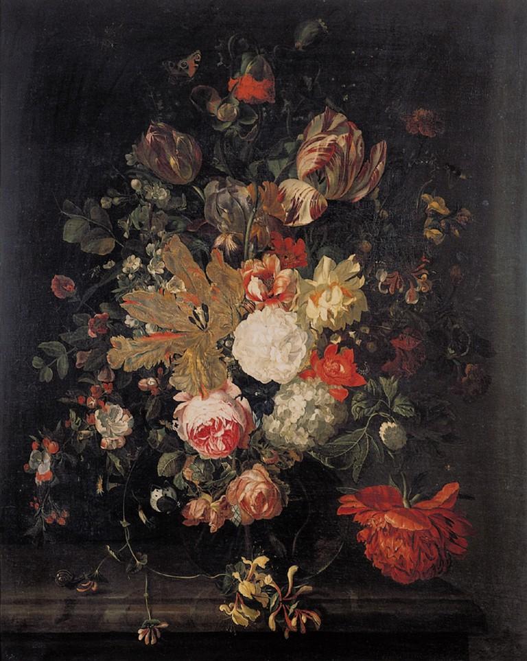 Catherina Backer: Flower Still Life, 1712