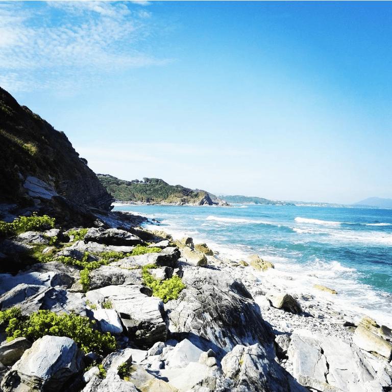Cenitz beach in Saint-Jean-de-Luz