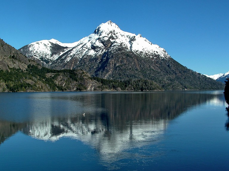 Cerro Capilla, a mountain located near Lake Nahuel Huapi