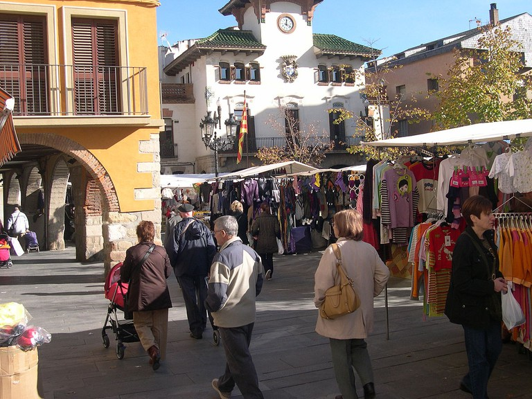 craft fair | ©Lo bandit / Wikimedia Commons