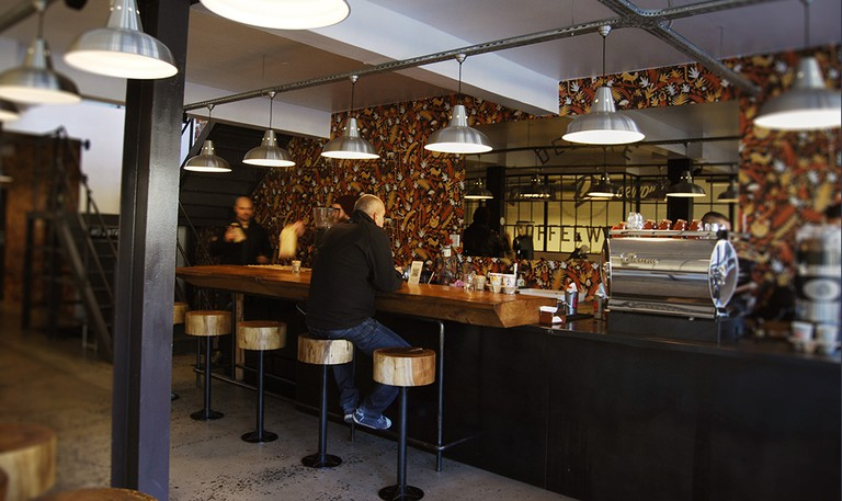 Deluxe Coffee Works is one of the most popular Cape Town coffee shops