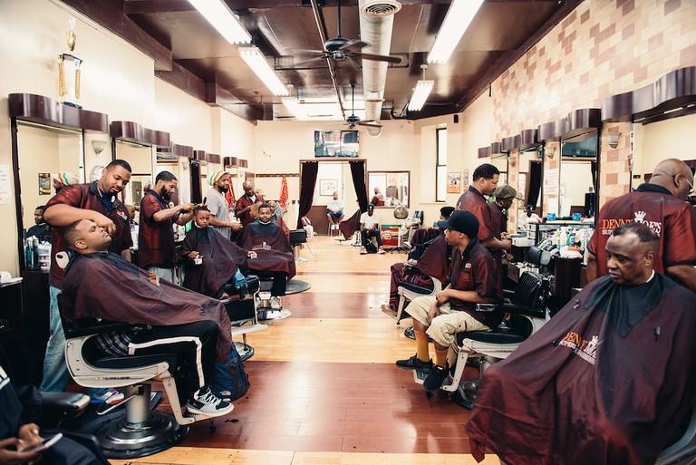 'Denny Moe's Barbershop'