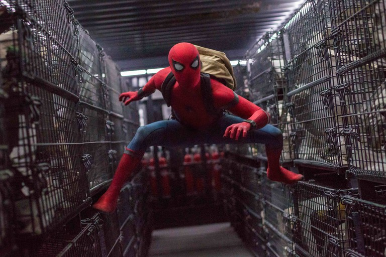 Tom Holland stars as Spider-Man in Columbia Pictures' 'Spider-Man: Homecoming'