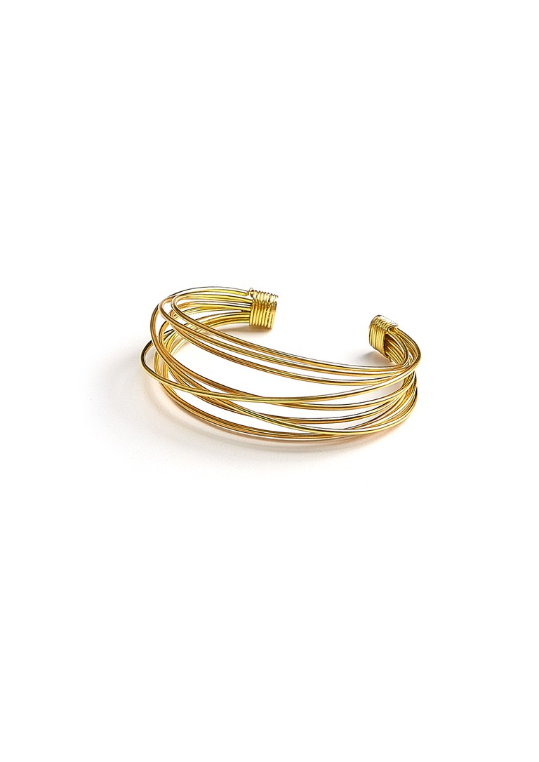 Donna Hourani Bracelet, this would look best with a shorter sleeve as to not take away from the piece