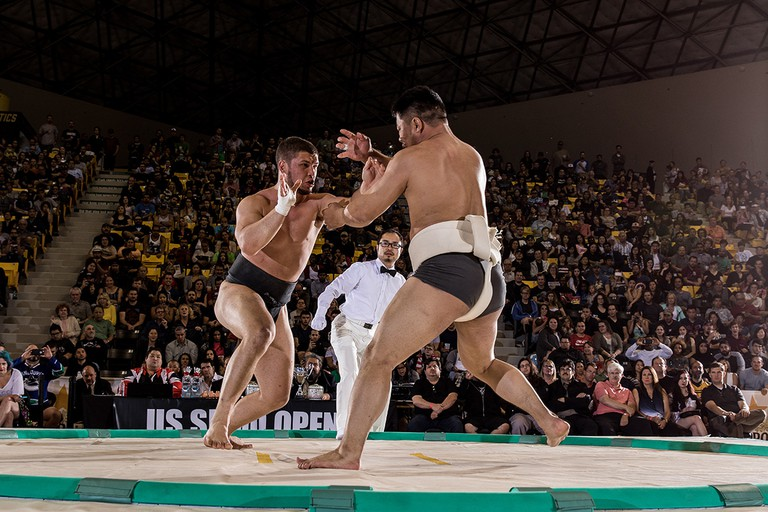 The 2017 U.S. Sumo Open is June 17 in Los Angeles | © USA Sumo/Dustin Snipes
